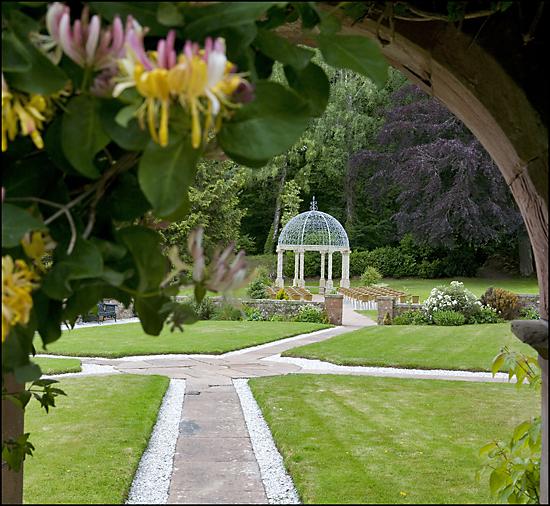 Dalston Hall Carlisle Wedding set up Photograph
