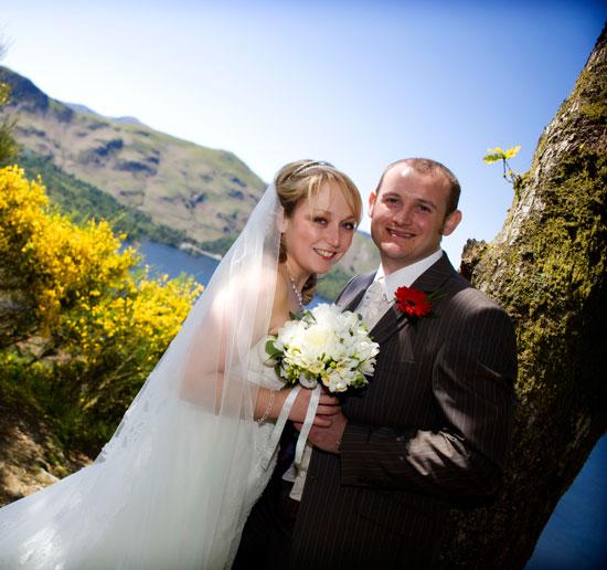 Lodore Falls Wedding Photography