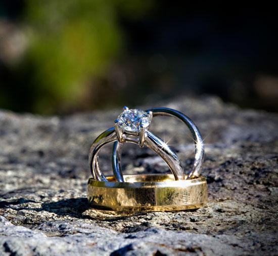 Wedding Rings Lodore Hotel