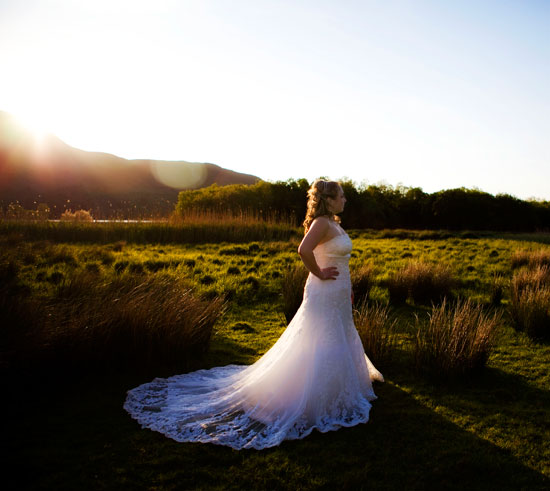 Lodore Falls Bride