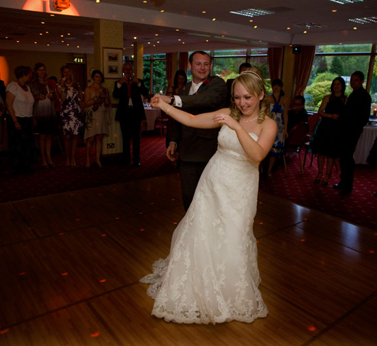 First Dance Lodore Wedding