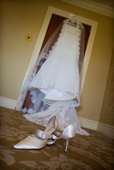 Lodore Falls Hotel Wedding Dress
