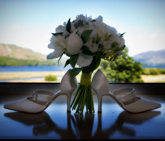 Lodore Falls Hotel Bridal Shoes