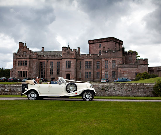 Wedding car hire company in the Lake District