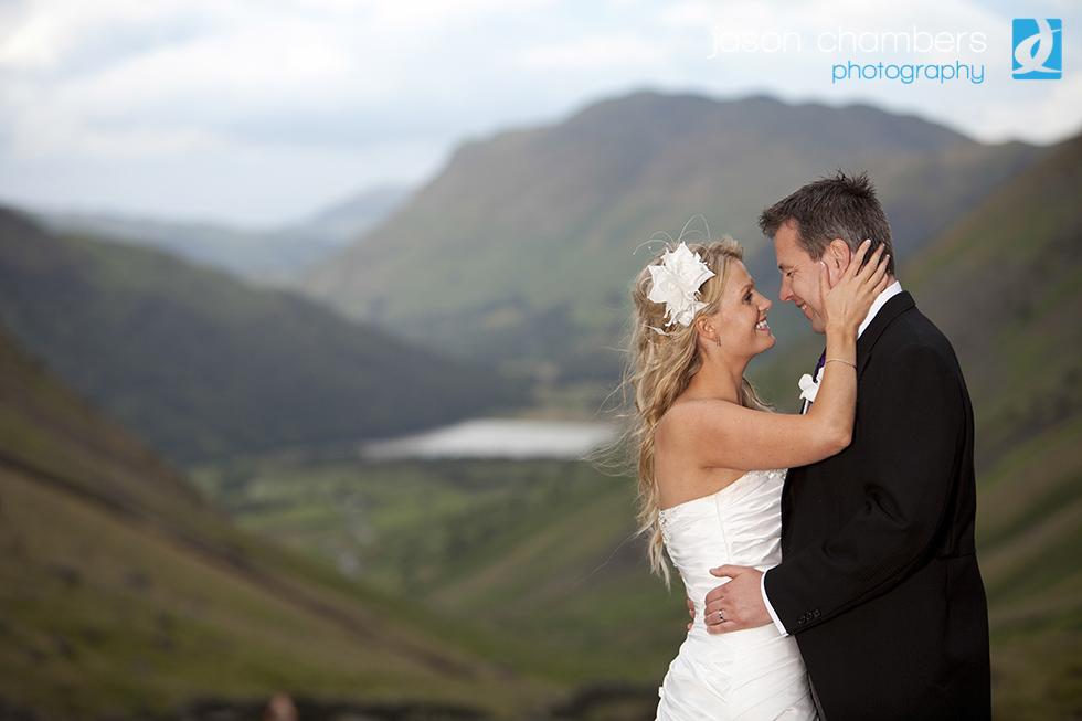 Wedding Photo Inn on lake