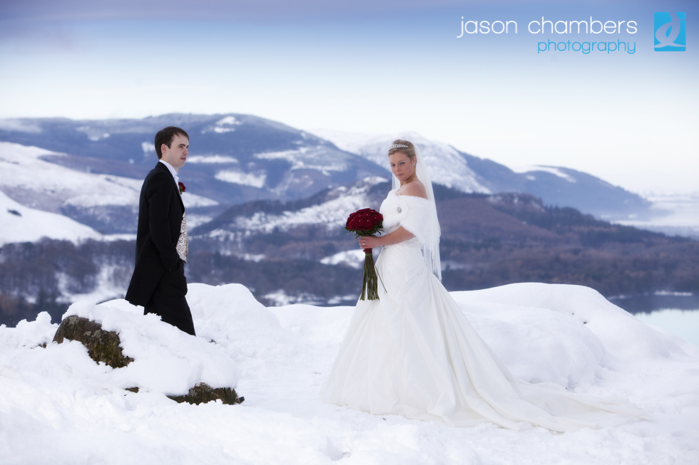 White Wedding in the Lake District