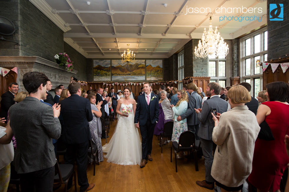 Chris & Hannah's Lingholm Estate Wedding