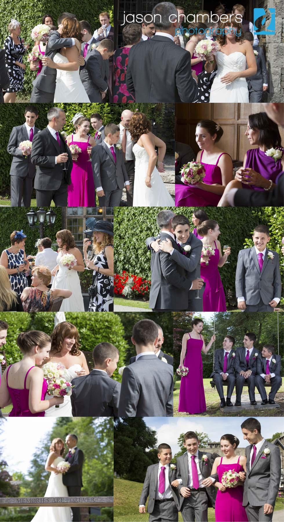 Summer Wedding Photographs Broadoaks 2013