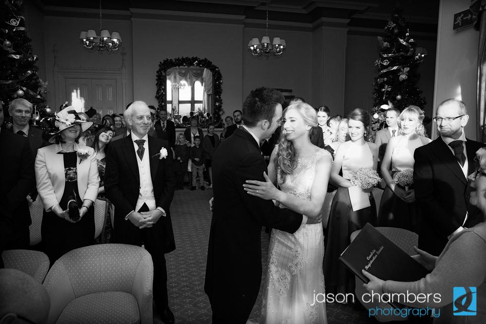 Wedding Ceremony at Armathwaite Hall