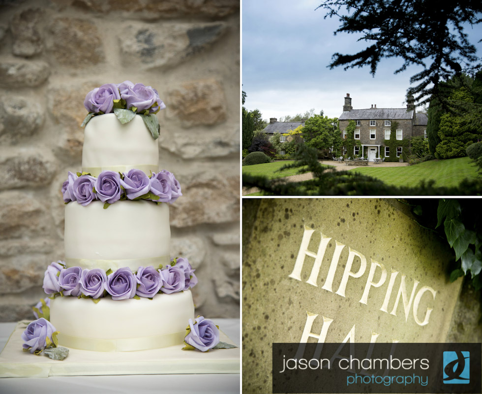 Hipping Hall Wedding Cake