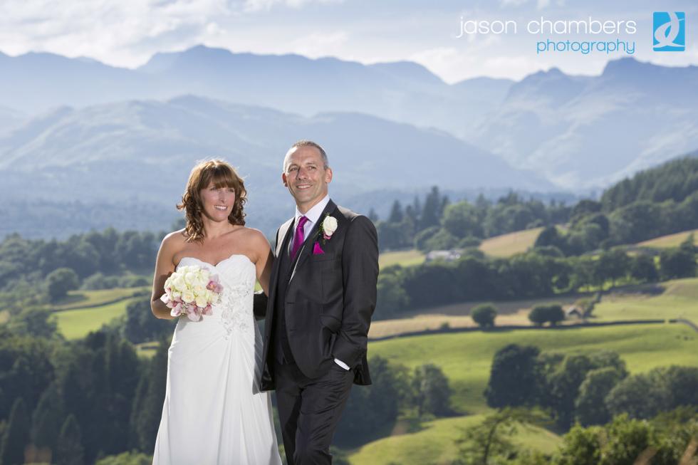 Lake District Wedding Photographs by Jason Chambers