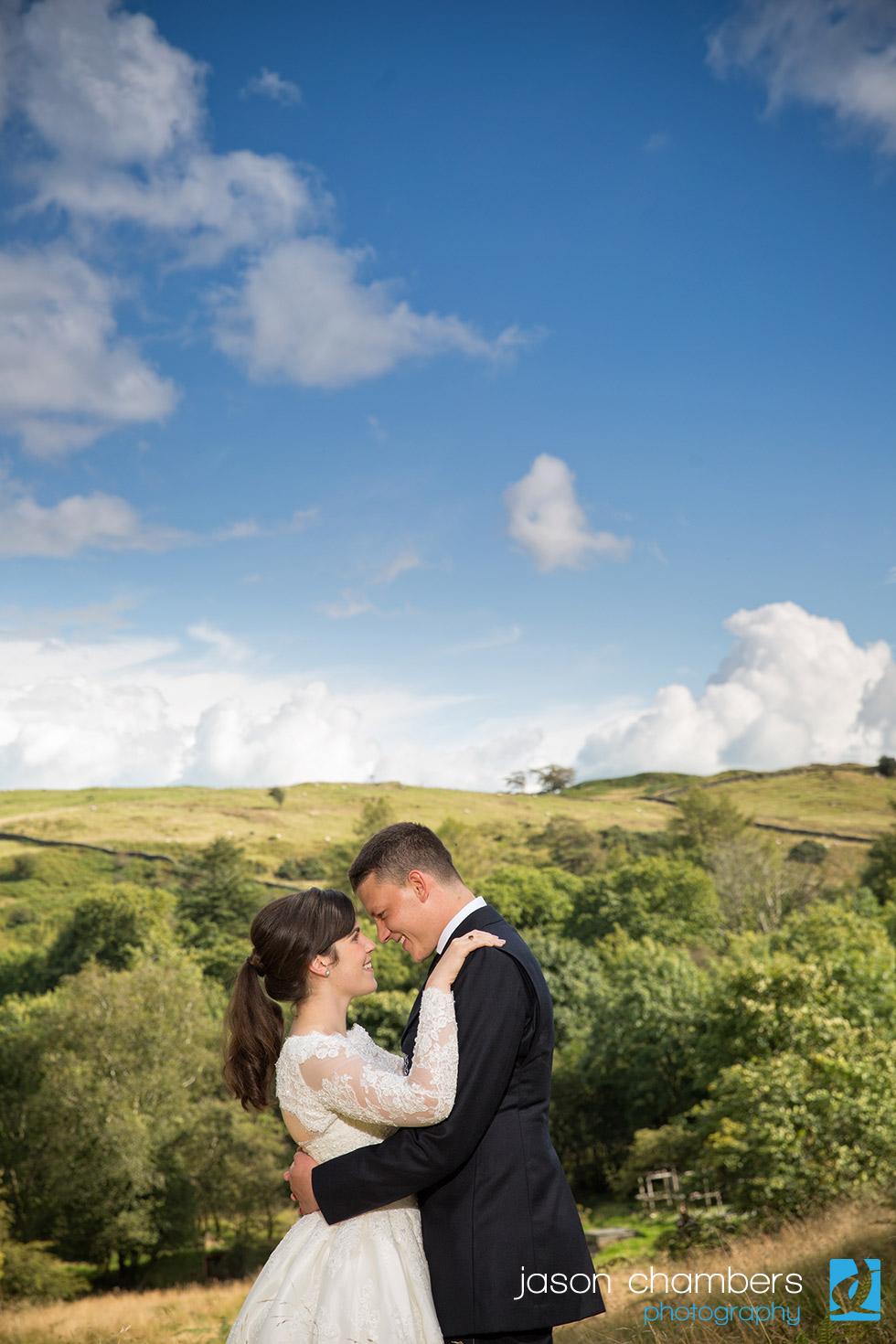Wild Boar Wedding Photographs - Cumbria