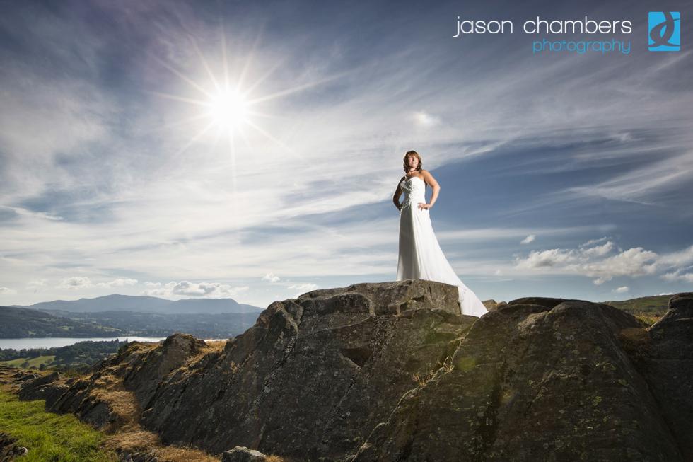 Gorgeous Wedding Photographs - Lake Windermere