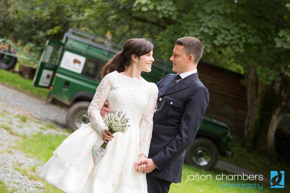 Four Wheel Drive Wedding - Lake District