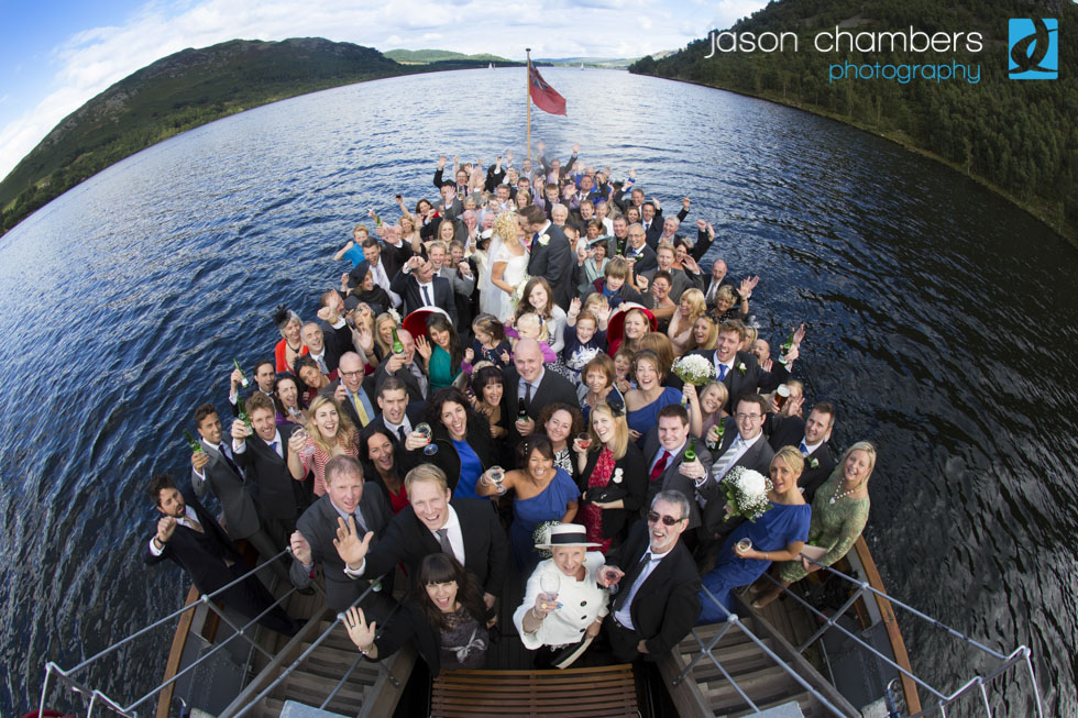 Lake District Wedding Photos on Ullswater Steamer