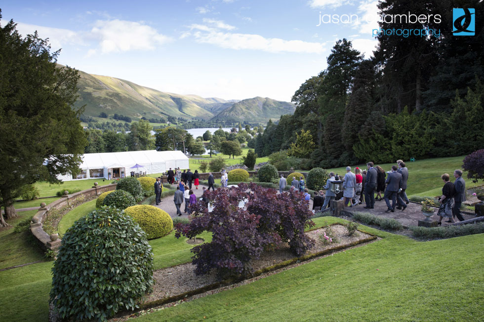 Large Wedding at Leeming House