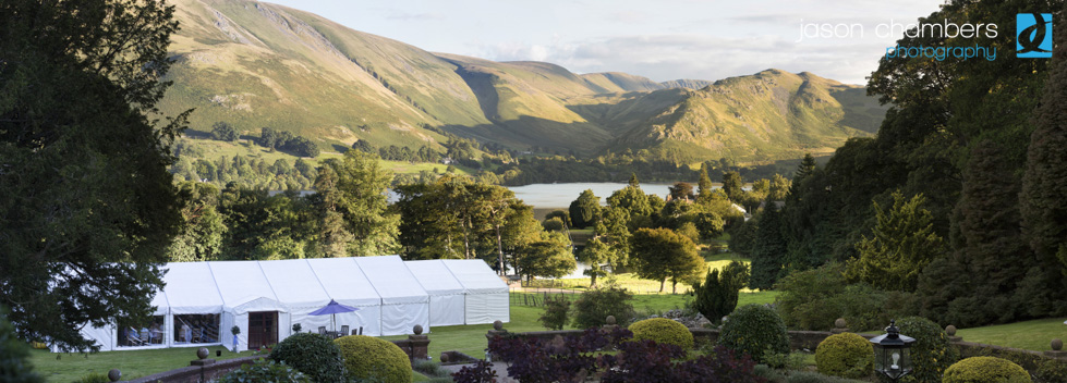 Panoramic Wedding Photographs of Lake Ullswater