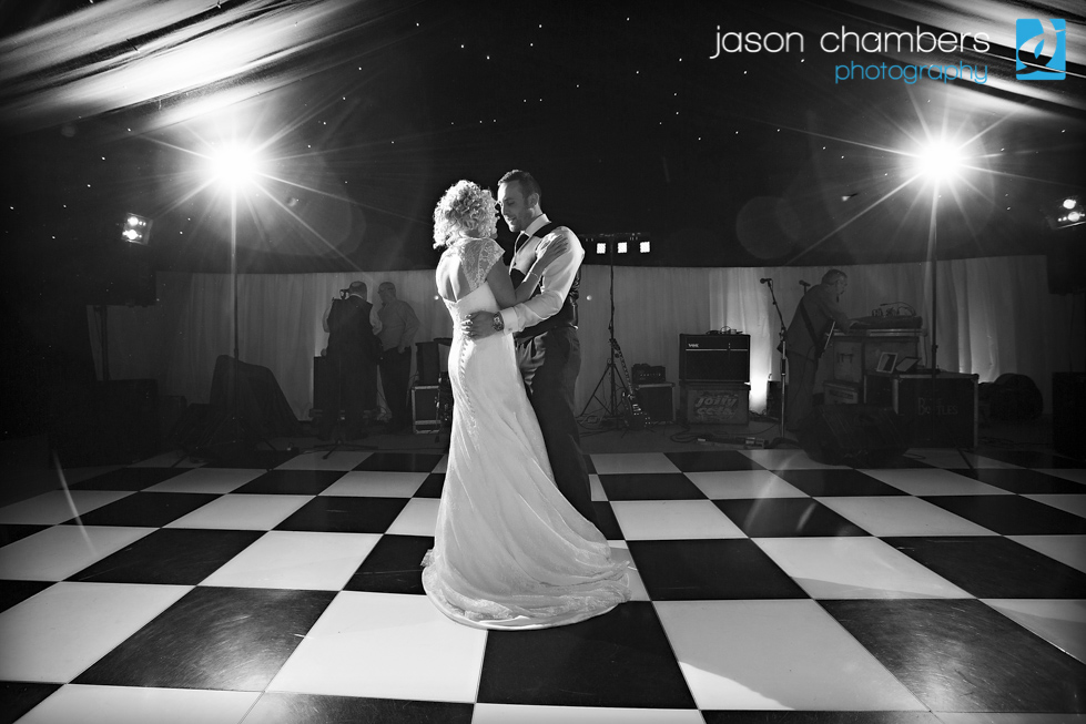 First Dance Wedding Photographs by Jason Chambers