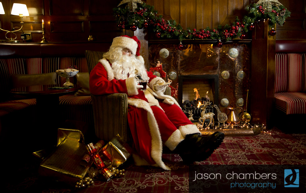 Father Christmas Photograph in Cumbria
