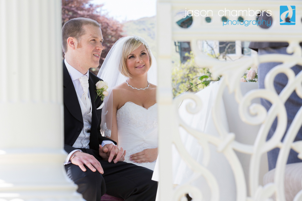 Gazebo weddings in the Lakes