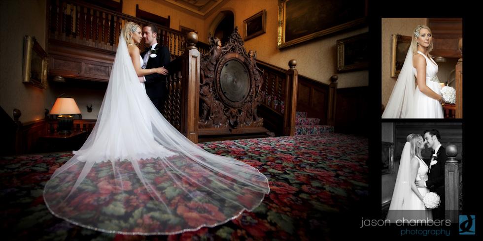 Armathwaite Hall Wedding Album Photographs by Jason Chambers