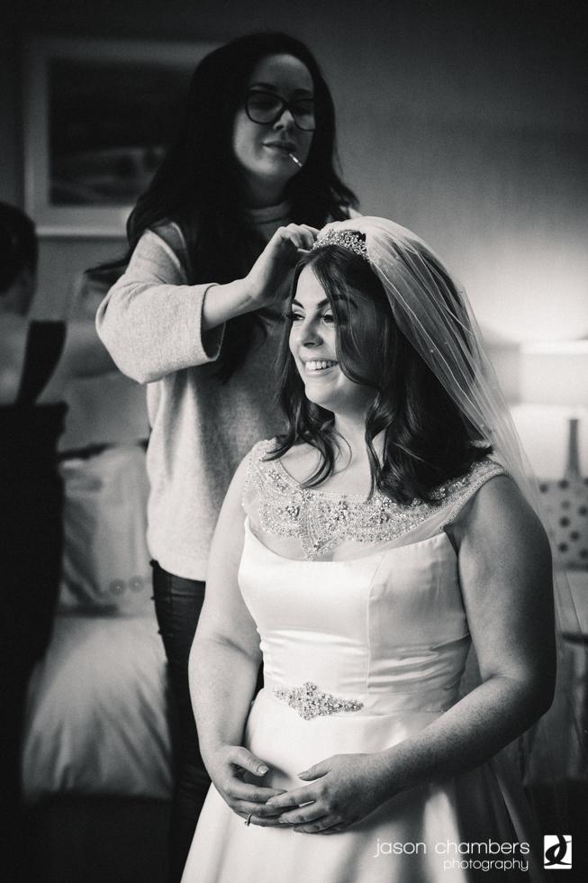 Hair and make up artist at Armathwaite Hall