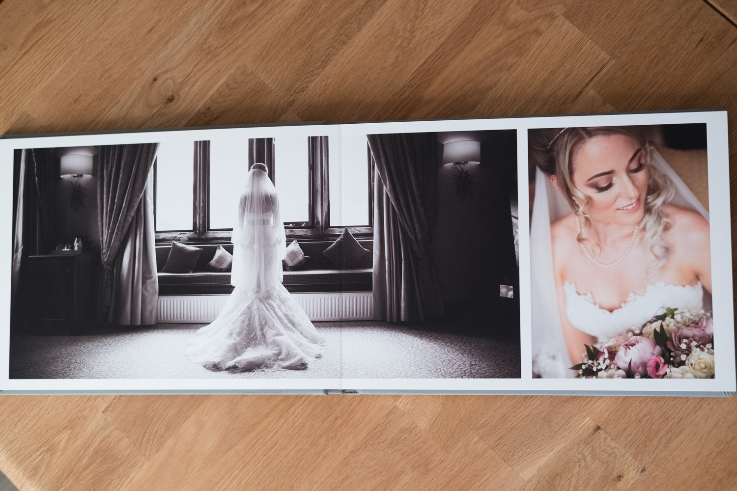 Fine Art Wedding Album From Armathwaite Hall