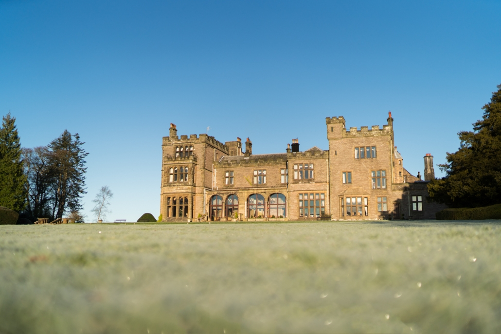 Armathwaite Hall on a frosty morning