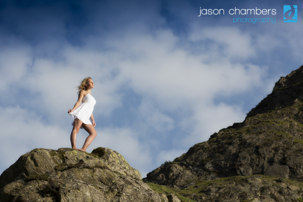 Location Portrait Shoot in Rannerdale