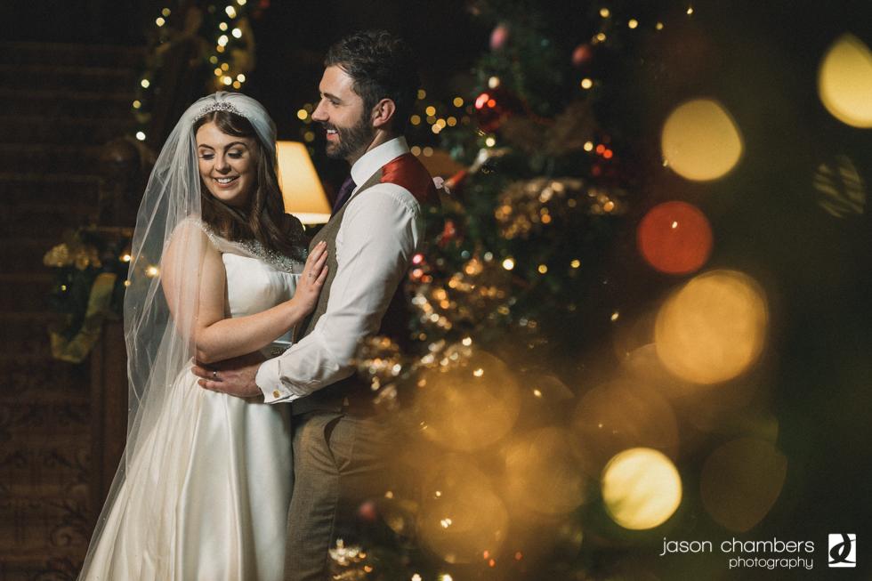 Jessica and Johns Armathwaite Hall Christmas Wedding