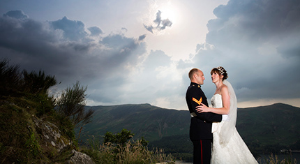 Photography Review Armathwaite Hall Lauren and Sean - image