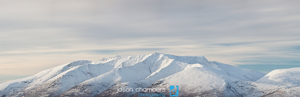 Blencathra Winter Panoramic Photography