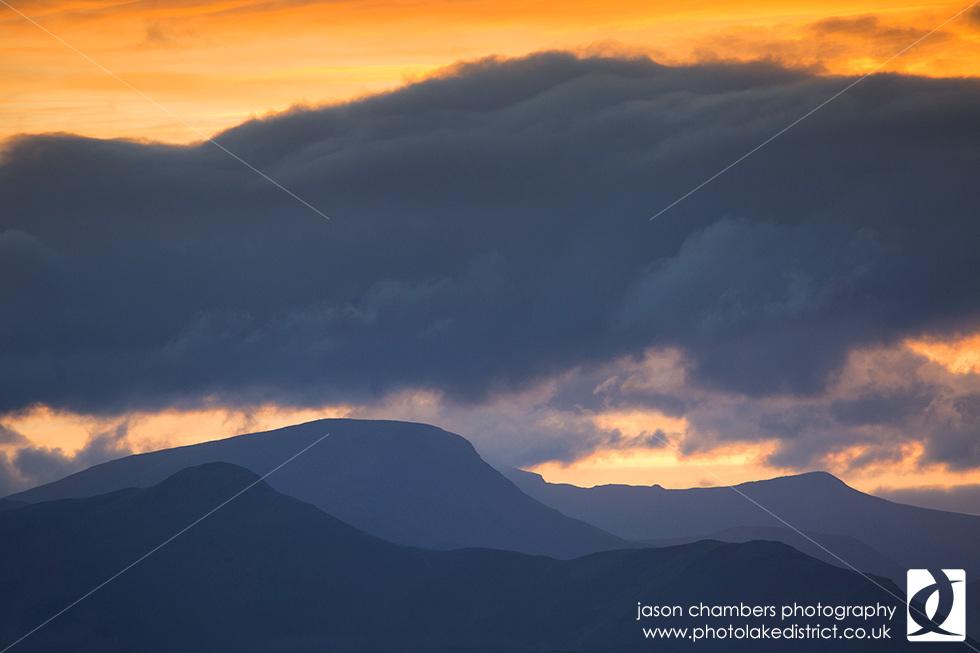 Catbells Sunset Photograph
