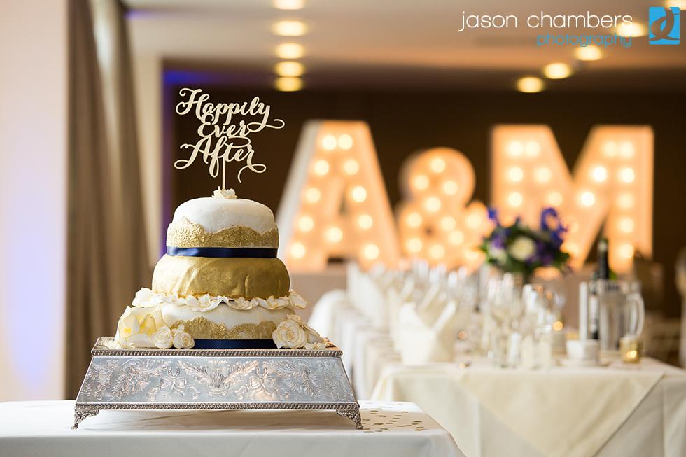 Wedding Cake - Daffodil Wedding Reception