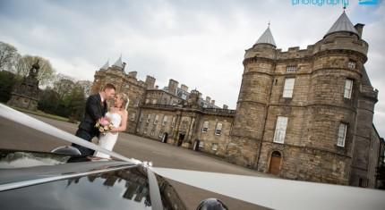 Holyrood Palace Wedding