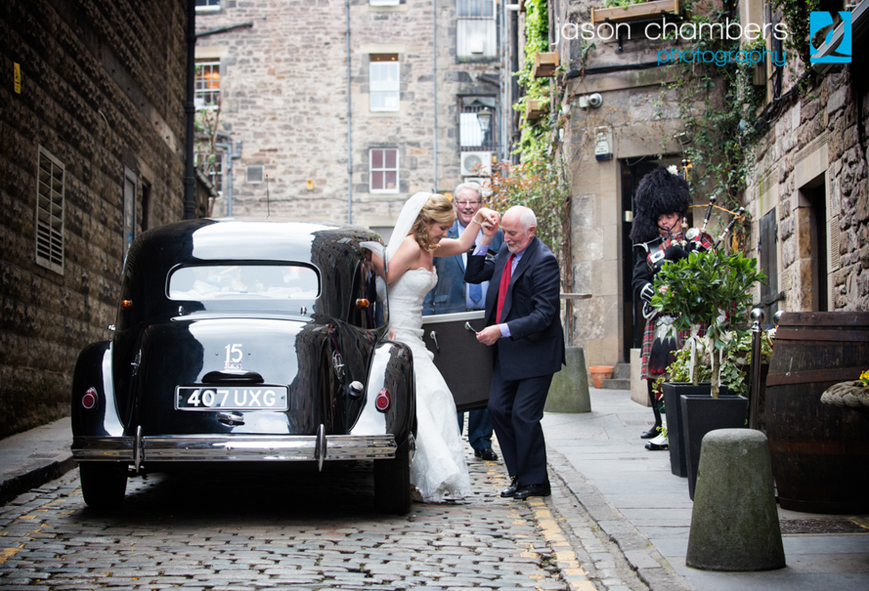 Auld Alliance Wedding Car Hire Scotland