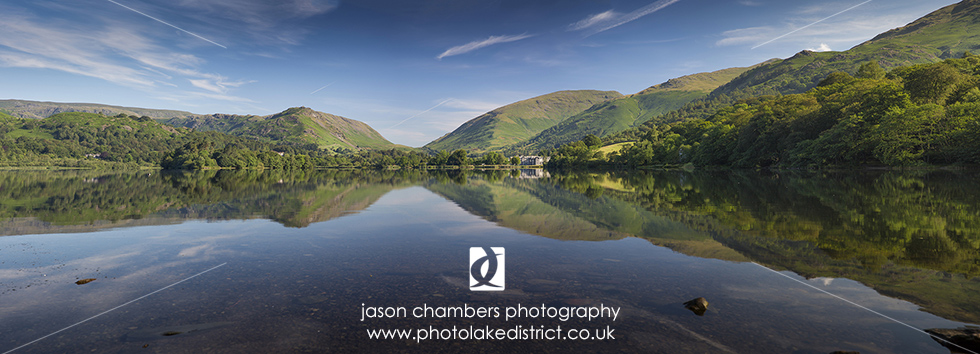 Grasmere Panoramic Reflection