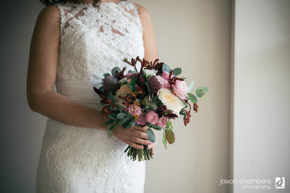 wedding flowers in the Lake District
