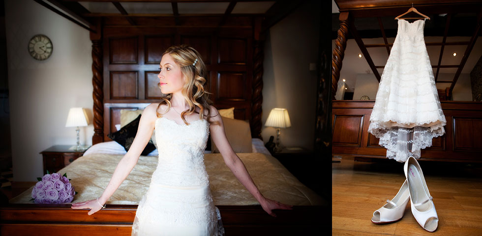 Bridal preparations at Broadoaks Country House