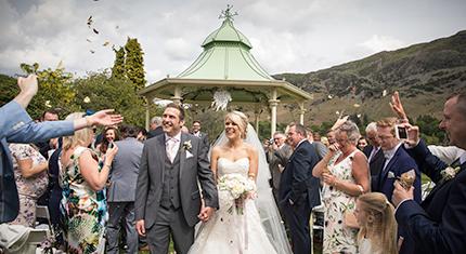 Jennie and Mark's Gazebo Wedding
