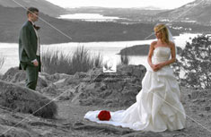 Martina and Stewart – Crosthwaite Church , Keswick - image