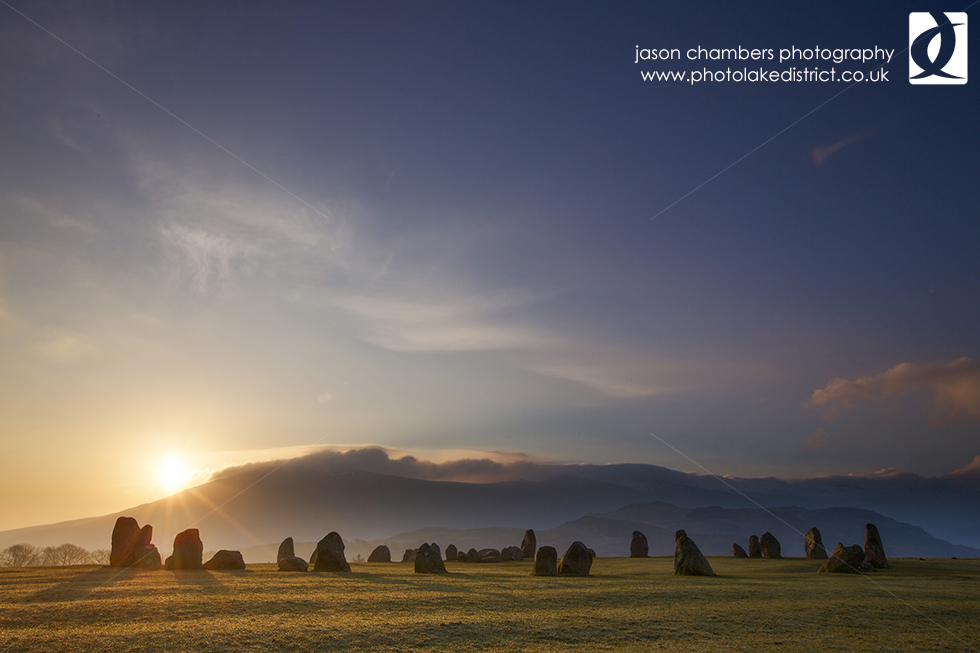 Lake District Sunrise Photograph