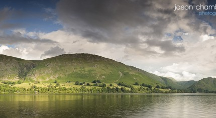 Lake Ullswater Panoramic - image