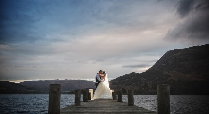 Lake Ullswater Jetty Wedding