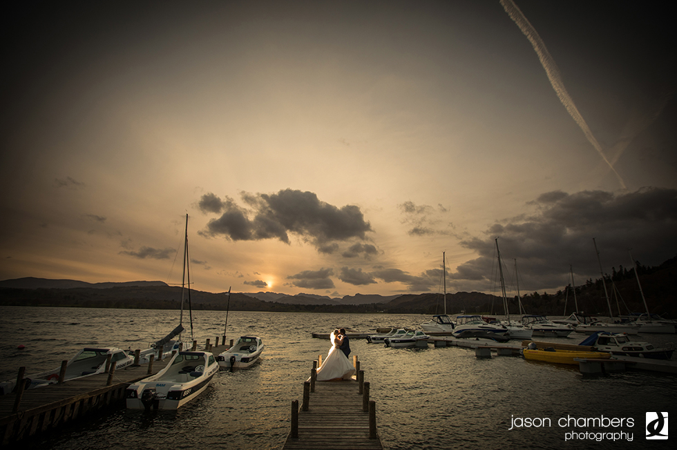 Lake Windermere Wedding - Photo of the month April