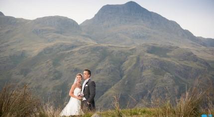 Langdale Wedding Photograph