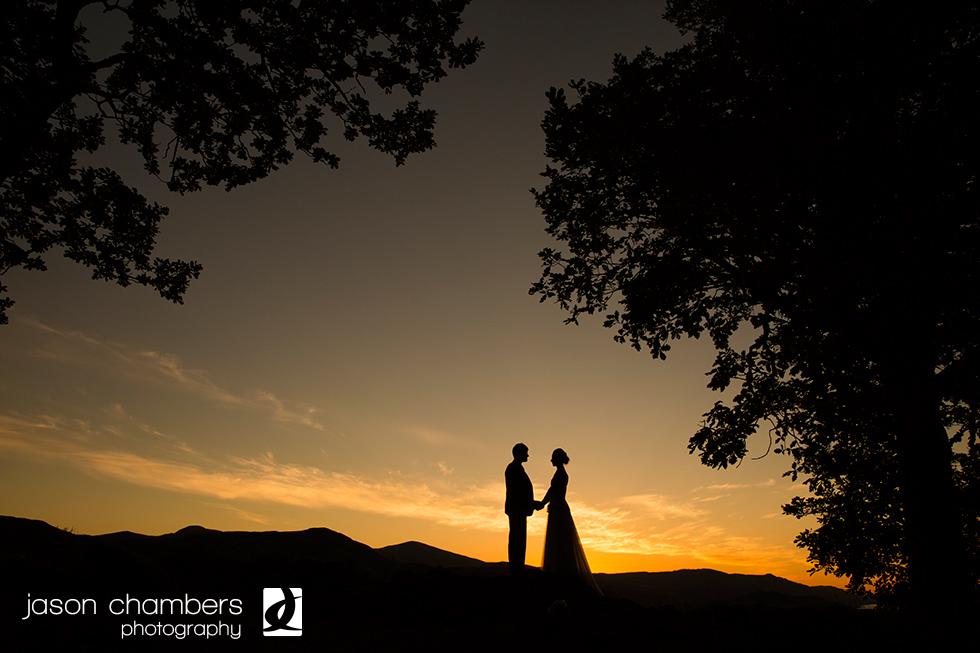 July 2014 - Lodore Falls Hotel Wedding Sunset
