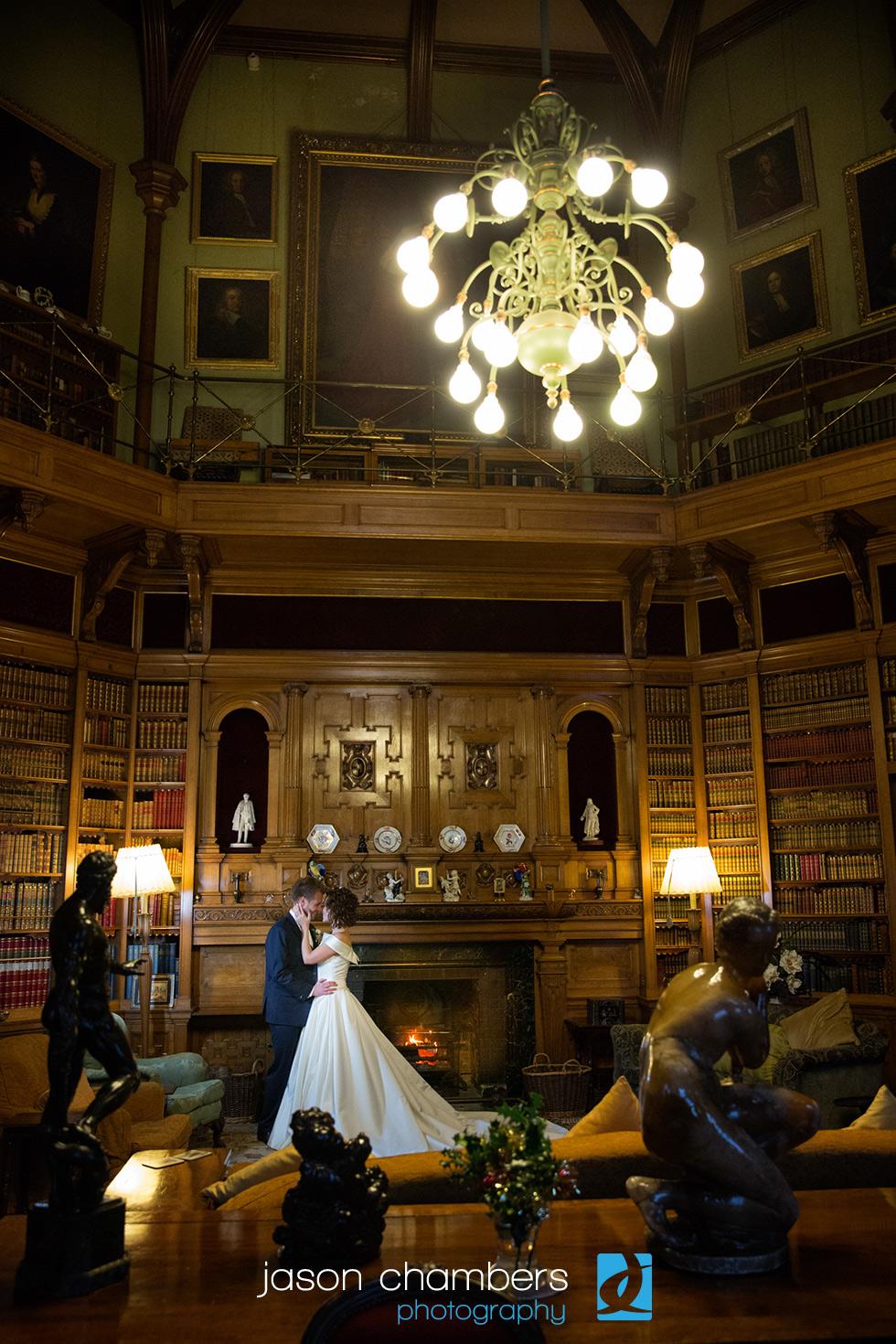 Muncaster-Castle-Library