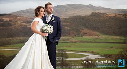 Muncaster Castle Wedding Photographs – Anna & Jonathan - image