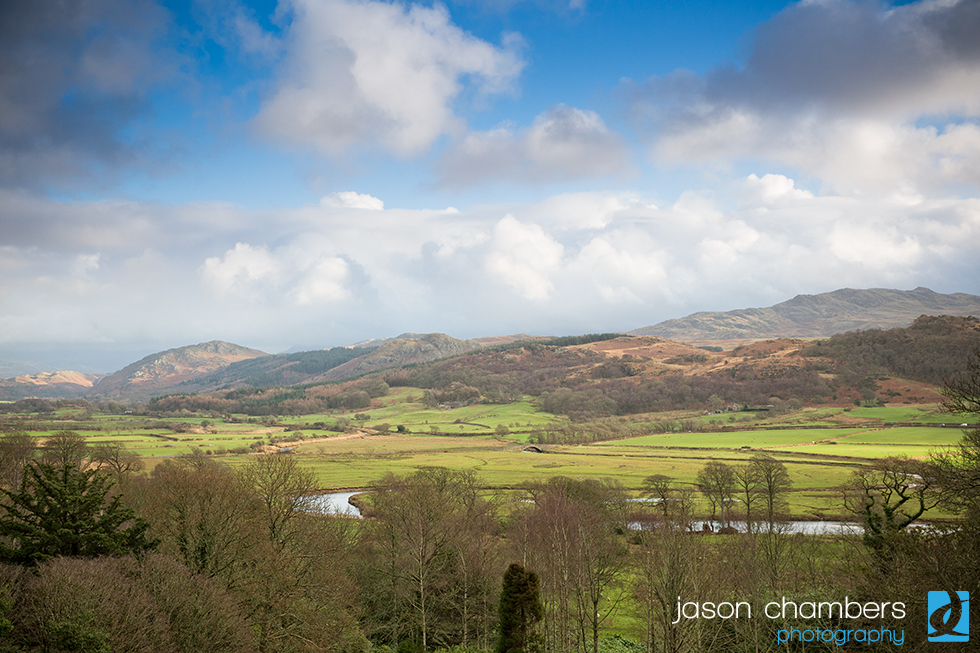 Muncaster Castle View